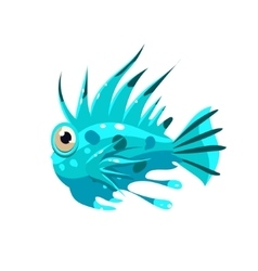 Prickly Fish vector
