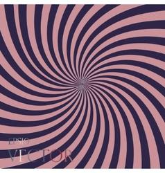 stripes circle square abstract vector image
