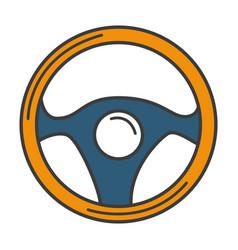 Wheel car isolated icon vector