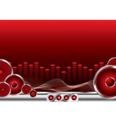music sound vector image vector image
