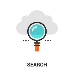 search icon concept vector image vector image
