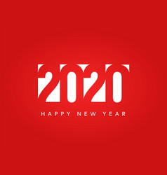2020 calendar cover design white negative space vector