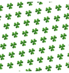 background of clovers vector image