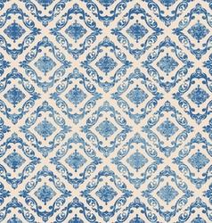 Blue pattern grunge scene vector