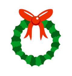 Cartoon christmas garland vector