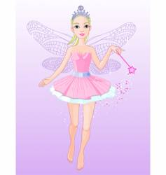 flying fairy vector image