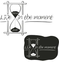 Hourglass vector image