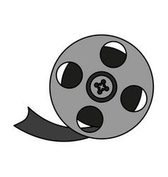 Movie film icon image vector