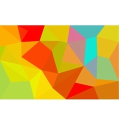 Rainbow colors triangular pattern vector image vector image