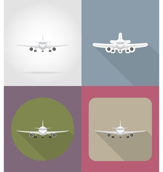transport flat icons 69 vector image