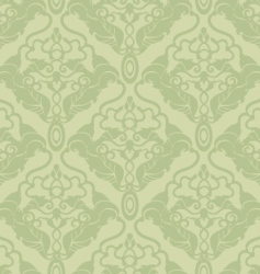 ornate wallpaper pattern vector image vector image
