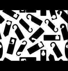 door knob hangers seamless vector image vector image