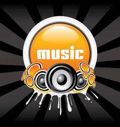 music banner vector image vector image