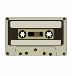 Audio tape vector