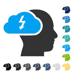 Brainstorming icon vector