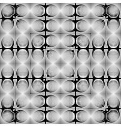 Design symmetric geometric pattern vector