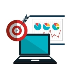 Search engine optimization icon vector