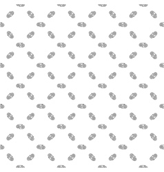 Spiral chaotic seamless pattern 5806 vector