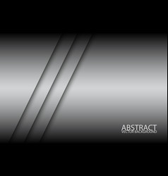 abstract background with two grey stripes oblique vector image vector image