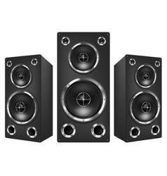 Acoustic loudspeaker vector
