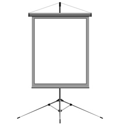 blank presentation vector image