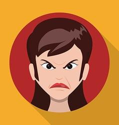 Cartoon emotions design vector