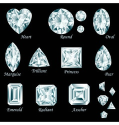 Diamond cut set vector