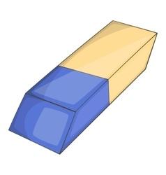 Eraser icon cartoon style vector image