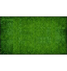 Green abstract mosaic background vector image