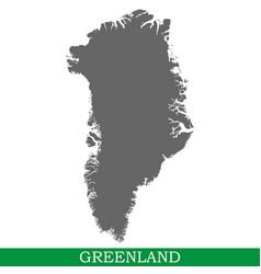 high quality map of iisland vector image