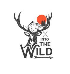 Into wild 2 vector