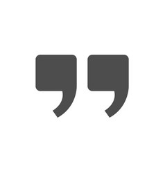 Quote modern icon vector