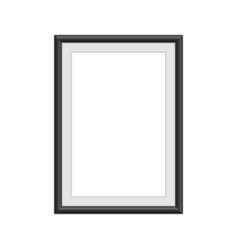 realistic vintage frame vector image