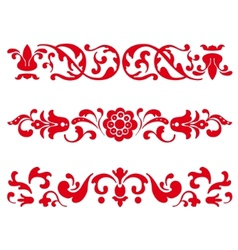 russian ornament vector image