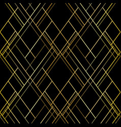 seamless pattern luxury cross lines background vector image