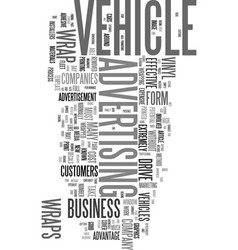 wrap it up and drive your business forward text vector image vector image