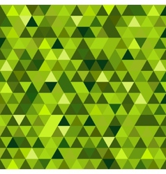 Abstract green mosaic background vector