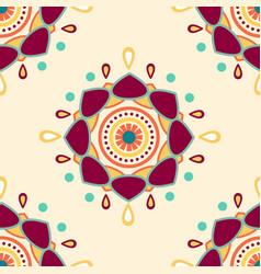 abstract mandala background pattern vector image