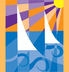 Abstract sailing vector