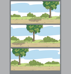comic strip sheet vector image