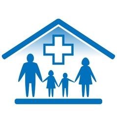 family medicine icon vector image