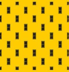 Glass door pattern vector