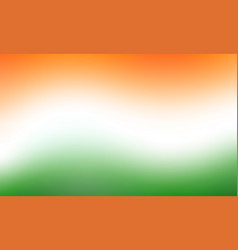 Indian tricolor flag vector