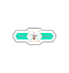label frames and badges icon design collection vector image
