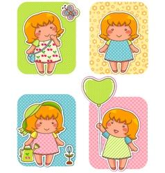 lala Cartoons small vector image
