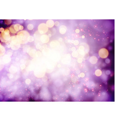 Magenta bokeh background for christmas design vector