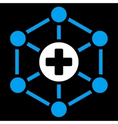 Medical Network Icon vector image