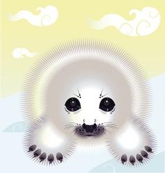Snow seal vector