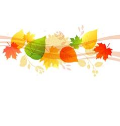 Autumn background vector image