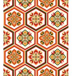 japanese floral classic seamless vector image vector image